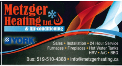 Metzger Heating Ltd. & Air Conditioning